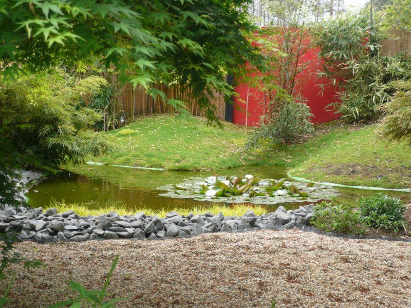 Cr ation d 39 un jardin japonisant sur le bassin d 39 arcachon am nagement de jardins paysagers et d for Creation bassin de jardin