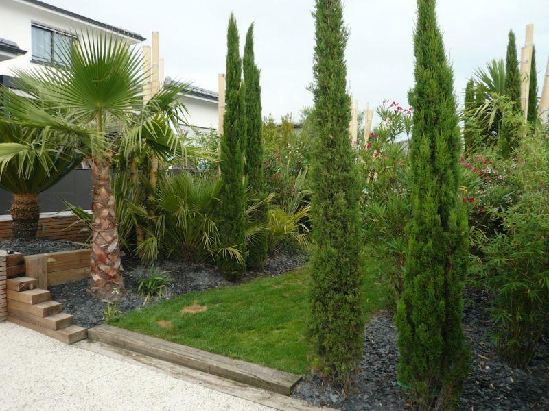 Am nagement paysager aux abords d 39 une piscine bordeaux for Entretien jardin gujan mestras